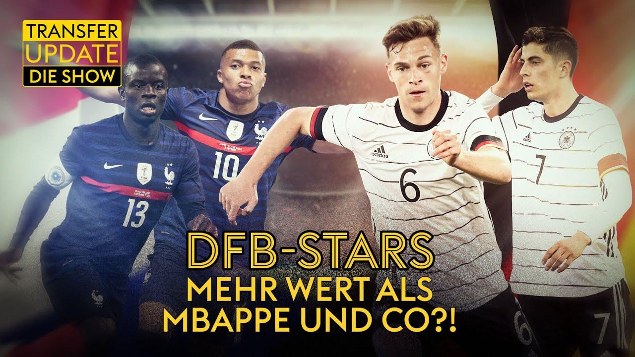 Darum gewinnt Deutschland das Head to Head gegen Frankreich| Transfer Update - die Show | Folge 171