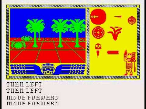 Aztec: Hunt for the Sun-God Walkthrough, ZX Spectrum