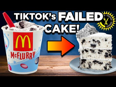 Food Theory: Testing the McDonalds McFlurry Cake! (Viral TikTok Hack) - The Food Theorists