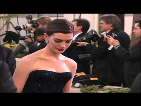 Anne Hathaway Fashion Snapshot Golden Globes 2009