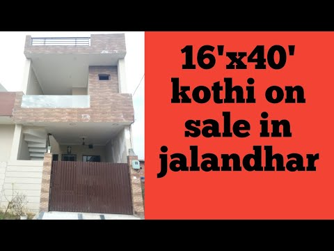 16'x40'2bhk duplex house on sale in jalandhar