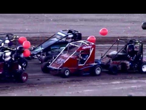 Barona Speedway Mini Sprint 3-26-16