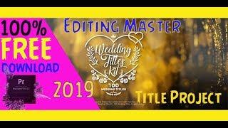 Premiere Pro Wedding Project Free Download
