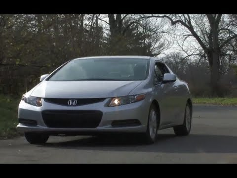 2012 Honda Civic Coupe Review / Test Drive = MPGomatic