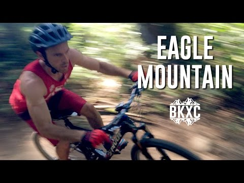 Mountain Biking on Eagle Mountain in British Columbia