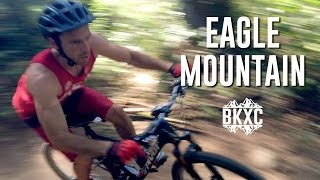 Mountain Biking on Eagle Mountain in British Columbia