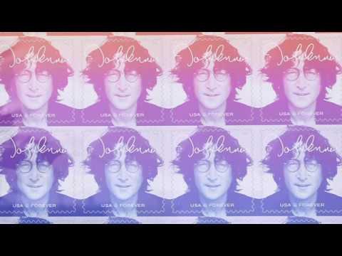 Amanda J - John Lennon Gets A Commemorative U.S. Forever Stamp