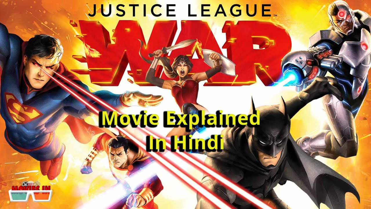 Download Justice League War movie Explained In Hindi | Dc Animated Movie Universe | Movies IN