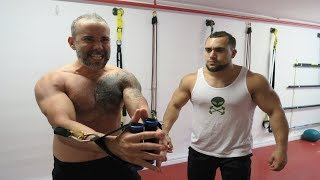 Explosive Tabata Resistance Band Chest Workout [E1]