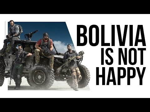 Bolivia threatens French Embassy over Ghost Recon Wildlands