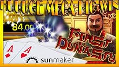 HUUUGE MEGA BIG WIN| Sunmaker- FIRST DYNASTY auf 1€/ 2,50€/ 5€ und 10€