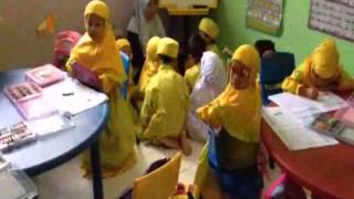 Video belajar mengaji di Sekolah Madinatur Rahmah 2
