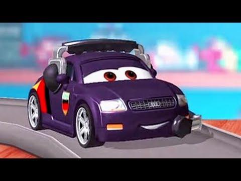 Cars DareDevil Garage Otto Bonn Gameplay