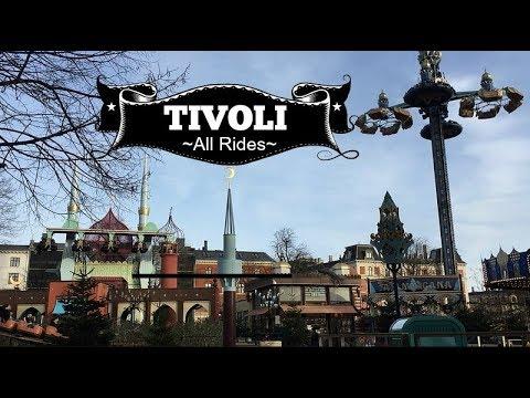 Tivoli Gardens Copenhagen All Rides & Attractions