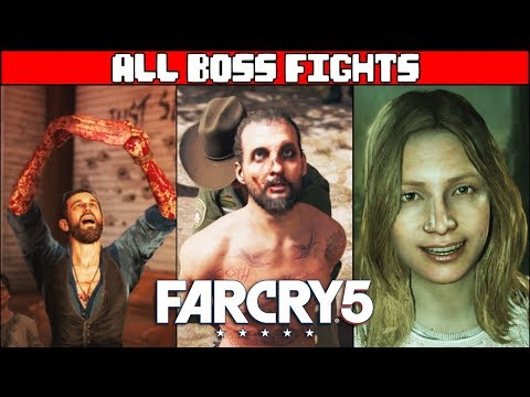 FAR CRY 5 All Boss Fights & Ending