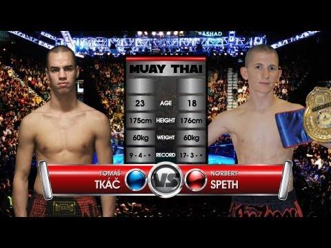 Tomáš Tkáč (SK) vs. Norbert Speth (HU) — Profiliga Muay Thai 13 en streaming
