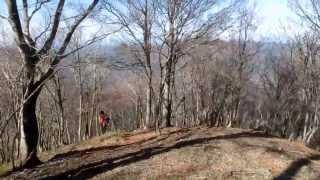 2013 11 14 迷岳 東尾根から