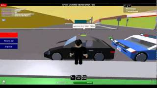 roblox traffic stop! (my 1st)