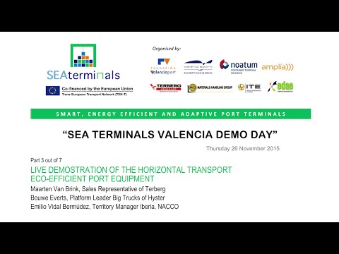 SEA TERMINALS Demo Day 3/7 (Valencia)