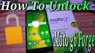 How To Unlock Moto g6 Forge Any GSM Carrier Fast Easy Step By Step