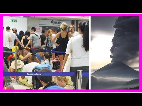 US Newspapers - Bali volcano: major airlines announce flight with clear conditions expected