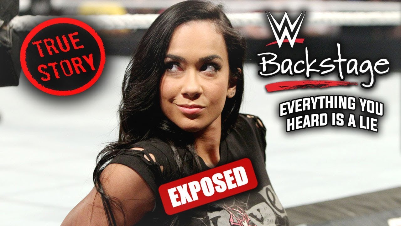 WWE Superstar EXPOSES Dark Backstage Story On AJ Lee That Will CHANGE THE WAY YOU SEE HER Forever