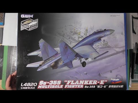 Sprue Review Great Wall Hobby 1/48 Su-35S Flanker E