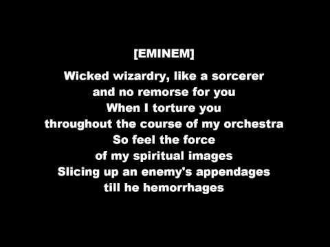 EMINƎM ft Thyme - Open Mic (lyrics)