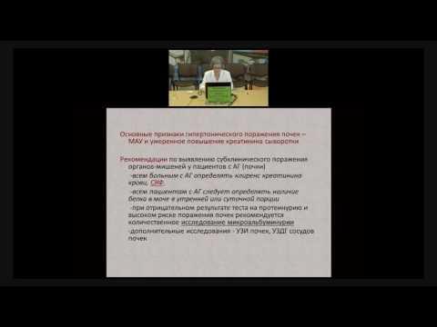 Ни Л.И. - Артериальная гипертония и хроническая  болезнь почек