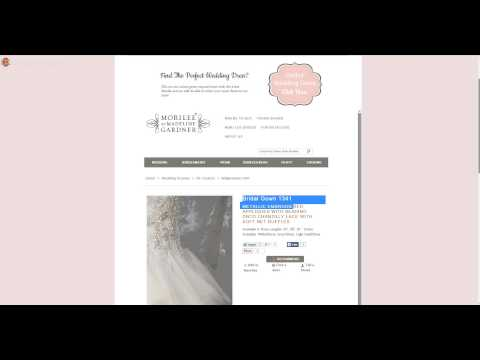 Stephanies Bridal Boutique  Bridal Gown Shop Website Design