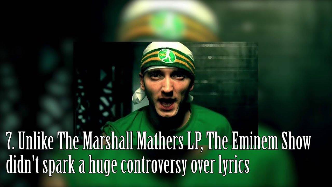 Ten Interesting Eminem Show Facts So So Active Youtube
