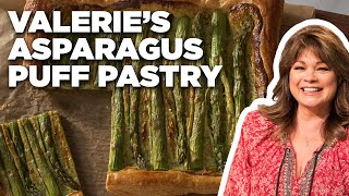 Valerie Bertinelli's Asparagus Puff Pastry   Valerie's Home Cooking