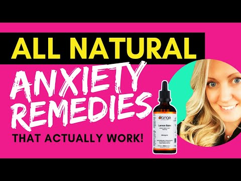 Anxiety Remedies - How to Stop✋Panic Attacks [My All Natural Solutions]