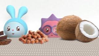 Малышарики - Умные песенки - Коричневый | музыкальные мультики для самых маленьких