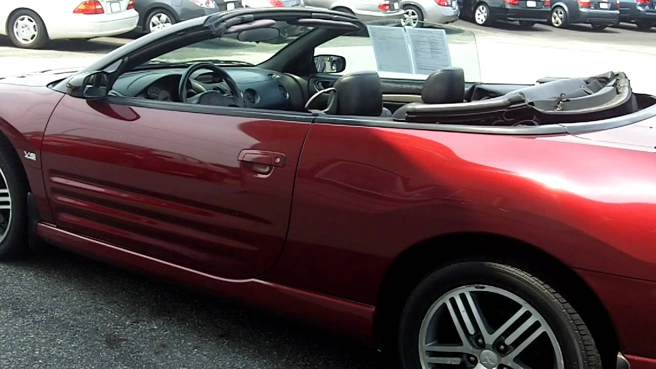 2003 mitsubishi eclipse convertible top