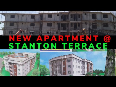 NEW STANTON TERRACE APARTMENT CONSTRUCTION ||  DRIVING NEW KINGSTON To STANTON TERRACE || The Keeylz