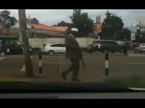 In The Video, Was That Miguna Miguna  In Hurlingham ?