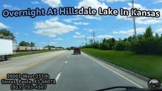 Overnight At Hillsdale Lake In Kansas