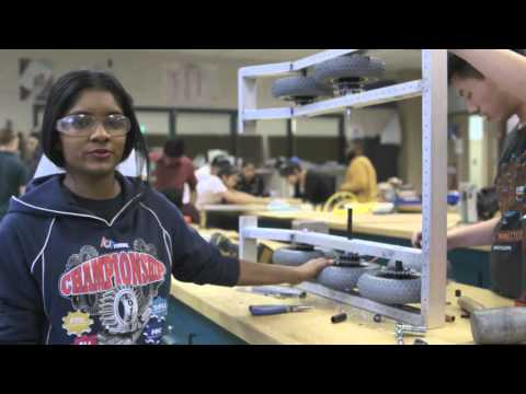 Bloomberg Sponsors FIRST Robotics: Queens Vocational and Technical High School