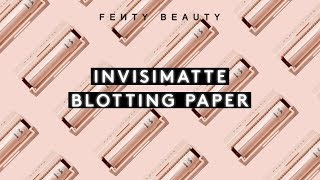 INVISIMATTE BLOTTING PAPER banner image
