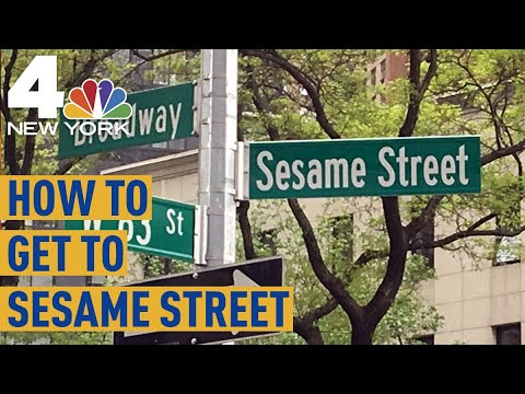 How to Get to Sesame Street: NYC Intersection Is Permanently Renamed After  Kids Show | NBC New York
