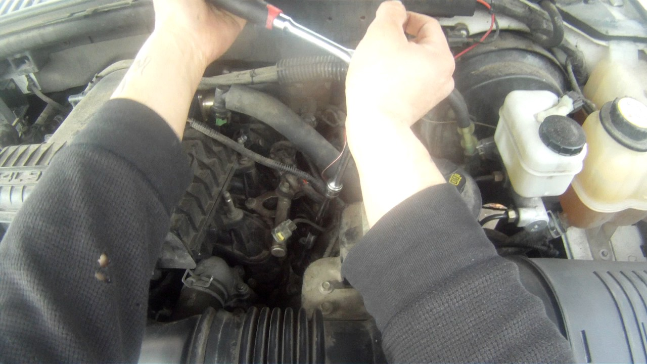 Service Manual  Removing And Replacing Spark Plugs On A