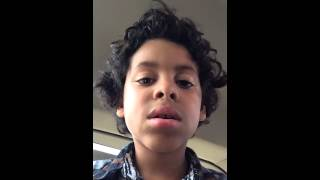 vuclip Adán lip synching to Beckah Shae's Turbo Style