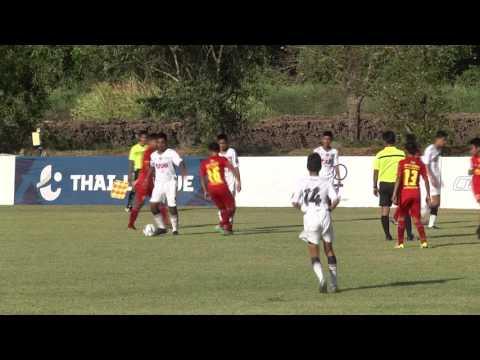 U-14 ADFT 2016/17 Match Bangkok UTD VS PTT Rayong Academy