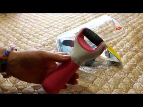Обзор роликовой пилки для ног SCHOLL Velvet Smooth Diamond Crystal Pink