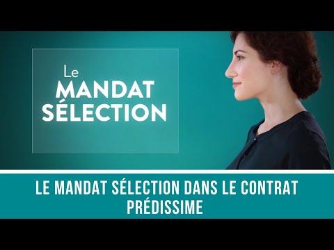 Mandat Sélection dans le contrat Predissime 9