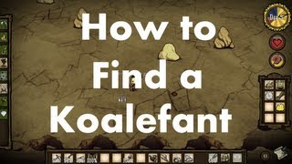 Don't Starve: How to find a Koalefant (Elephant)