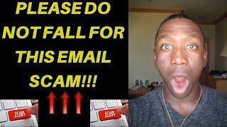 YouTube Phishing Email - (Warning!!!) Please DO NOT Fall For This Scam Email!
