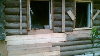 видео Ремонт деревянного дома