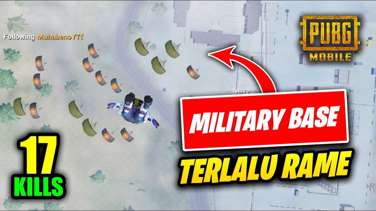GA NYANGKA MILITARY BASE SEKARANG SERAME INI - PUBG MOBILE INDONESIA